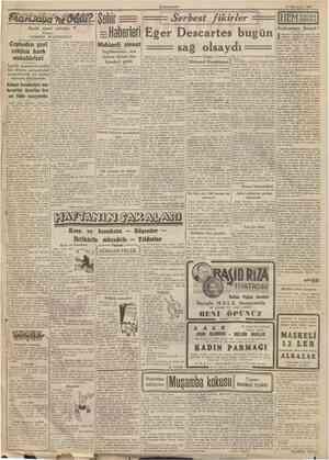 CUMHURİYET 17 îkİncitefrin 1940 Büyük siyasî tefrika: Yazan: GORDON WATERFİELD Cepheden geri çekilen harb muhabirleri Ingiliz