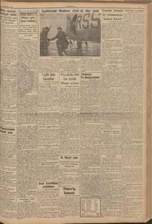 28 Şubat 1941 CUMHURİYET İtalyan askerinin manevîyafı berbat İİHABBVAZİYETİ Siyah Gömİekli zabitler efrad üzerine ateş...