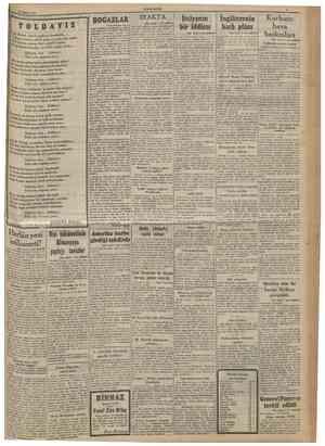 10 Mayıs 1941 CUMKURÎYET S Y 0 L D A YIZ Yine destan sesleri çağlıyor Anadolda... Yoldayız; kadın, erkek, genç ve yaşh, hep