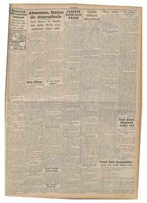 Haziran 1941 CUMKURÎYET Habeşistanda göller mıntakası temizlendi Vatanperverler şımdı Fana golu civarında taar ruza geçtiler