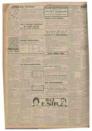 CUMHURlYET 20 Haziran 1941 ASKERLİK İŞLERİ Eksiltmiye konulan iş : 1 Bursa Su İşleri Birinci Şube Müdürlüğü mıntakasmdaki...
