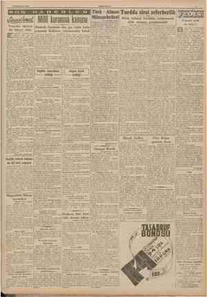 19 Birincikânun 1941 CUMHURİYET Tecavüze uğrıyan Muhtelit Encümen dün geç vakte kadar bir bitaraf daha çalışarak lâyihanın