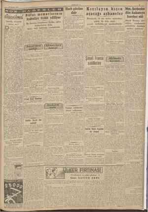 5 Haziran 1942 CUMHURÎYET . S O P» «J Lavaiin düşmesi yakın mı? emokrasi kaynaklarına göre Fransa halkının lıiç olmazsa yüzde