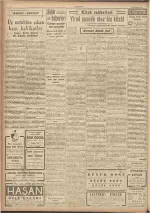 CUMHURİYET 12 İkmcite»rm 1943 Askeri • • vaıiyet ün, 1 numaralı Dünya Harbinde. Almanyanın imzaladı. ğı mütarekenin yıldönümü