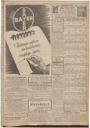 1944 CUMHURİYET TaksÎM K R I S T A L d e SADULLAH REVÜSÜNÜN 9 Yarm Âkşam ı 1 Sadullah roliinü oynıyan TambHrî İHSAN GECESİ
