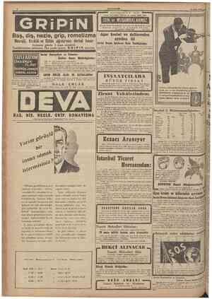 6 CUMHURfYKT T ATI U LA E l 18 Şubat 1944 .. l t î Ç i fl geçmez sağlam lâstlk arayıp bulamadığinız katfiyyen *u DON ve...