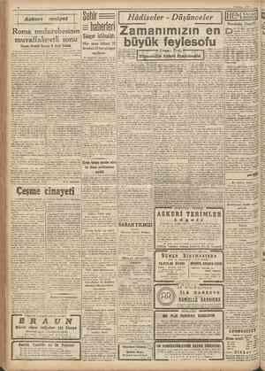 6 Haziran 1944 ört yü ence, gene böyle bir haairan srünü idi; 1940 haxu ranının 10 uncu giınü. Eomada Venedlk sarayınnı...