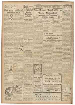 Missouri Hareket Ettikten Sonra: Şehir Teknik Üniversite mükâfatı CUMHURIYET 9 Nisan 1946 BAŞKA MEMLEKETLERDE HEM NALINA...