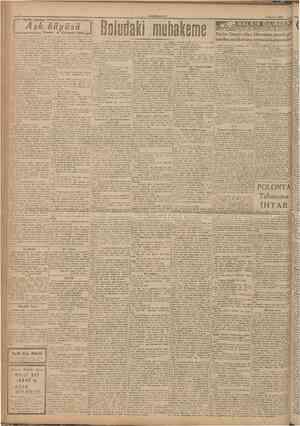 CUMHURIYET 6 Haziran 1946 I Aşk büyüsü : ^ = KiiçUk hikâye = = = = = Yazan : A. SL riayet KeeB = navanın kasavetli...