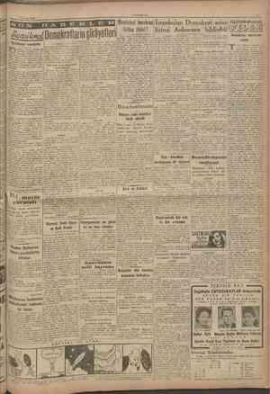6 Temmuz 1946 CUMHURIYET Başmakaleden devam Battarafı 1 inci sahifede I M. K P. Eskişehir şubesi açılmıştır. Birîncî Dünya
