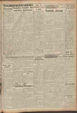 11 Temfmn 1946 CUMHURIYET Başmakaledm devam anımıyanlar hayaia göz yuolan seçimde partilerin milletin reyine mu^taki...