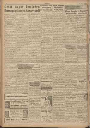 CUMHURİYET 17 Temtnnz 1946 Celâl karar verdi Edirneden aday Receb Pekerin gösterilenler Kütahyadaki Şükrü Kaya ile Şakir...