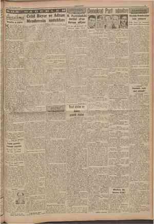 18 Temmuz 1946 CUMHURTYET Sovyetler ve Arablar ahirede çıkan ALMısrî ga. «etesi, Ortaşarka dair yazılarile tamnmış Alan...