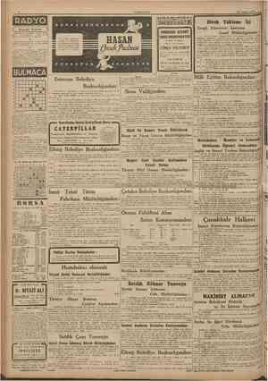CUİVÎHURÎYET 23 femmın 1946 7,2S Açılış ve program 7,30 Muzık 7,45 Haberler 8,90 Muzlk fPı.) 8,30 Kapanif ve program, 12.29