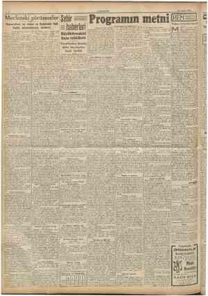 CUMHURlYET 15 Agustos 194« Mecllsteki görüşmeler Sg|]jf Demckratlarm aeı sözleri ve Başbakanla Halk Partisi milletvekiüerinin
