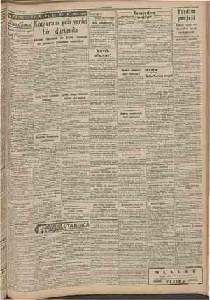 "3 Nisan 194? CUMHURİYET O ISJ A B E Mısırda larihî bir gün! f! \ y ' | | mesele inerfaıde anlaş'* "" madaa mimaksupaJar» devam"