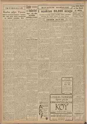 """«JLMHUKlVKl 1 Ağustı» 1947 IKTIBASLAR Sehir ; Korku şehri Viyana Eski bir Âvusturyah komünist: """"ÂmerikaIılar, Âllah aşkına"""
