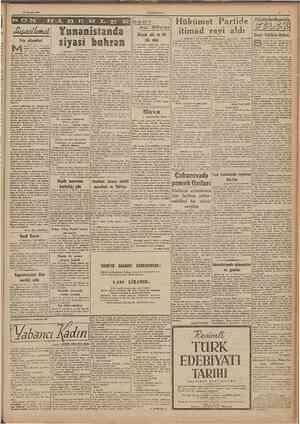 27 Agustos 1947 CL'MIIL'RİYFI Yeis alâmelleri ısırdan gelen haberlere bakıp da bu memlefcetin yese uğramağa başladığlru...