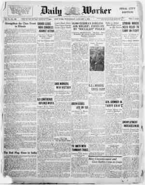 1930 Dawns m Flame* of (Hass Slnitrtrle Throughout the World; the Ked Flag Already Raised In India; fife First Workers*...