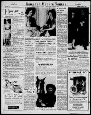 PAGE 12 In Mayfair I rl wnh ————— ANOTHER APRIL 19 bride... making the total now SIX orange blossom and tulle girls on that