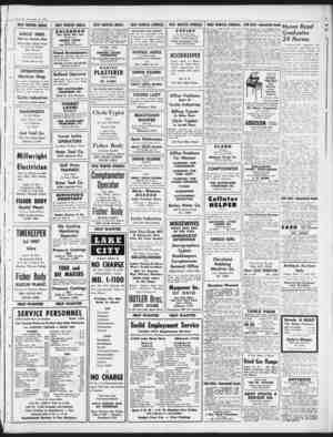 Thursday, September 10, 1953 HELP WANTED (MALE) UNCLE MIKE The Ice Cream Man Needs High School Boys To Sell Ice Cream After