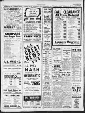 1932 De Soto 4-Door 1951 Plymouth 4-Door 1949 Mercury Club Coupe Page Ten_____ AUTOMOBILES FOB SALE AUTOMOBILES FOB SALE...