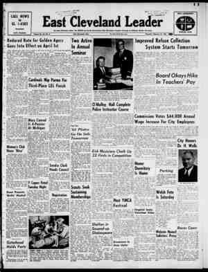 East Cleveland Leader Gazetesi 28 Şubat 1963 kapağı
