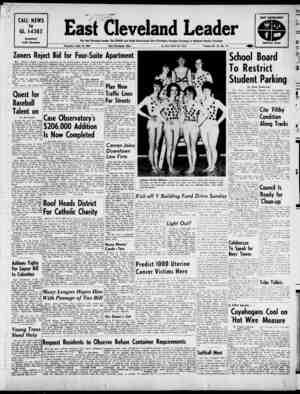 East Cleveland Leader Gazetesi 18 Nisan 1963 kapağı