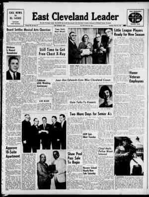 East Cleveland Leader Gazetesi 23 Mayıs 1963 kapağı