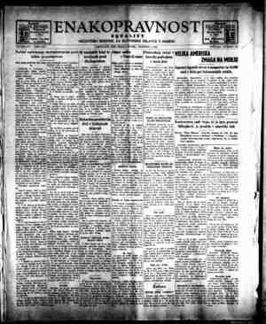 Enakopravnost Gazetesi 4 Aralık 1942 kapağı
