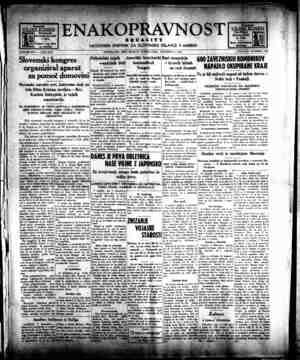 Enakopravnost Gazetesi 7 Aralık 1942 kapağı