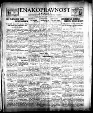 Enakopravnost Gazetesi 8 Aralık 1942 kapağı