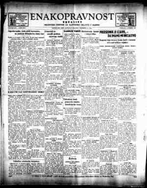 Enakopravnost Gazetesi 12 Aralık 1942 kapağı