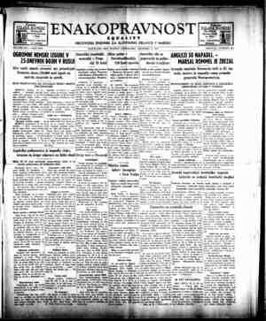 Enakopravnost Gazetesi 14 Aralık 1942 kapağı