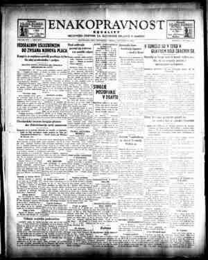 Enakopravnost Gazetesi 16 Aralık 1942 kapağı