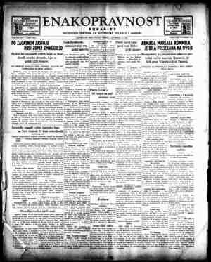 Enakopravnost Gazetesi 18 Aralık 1942 kapağı