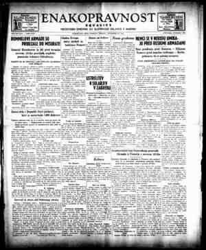 Enakopravnost Gazetesi 22 Aralık 1942 kapağı