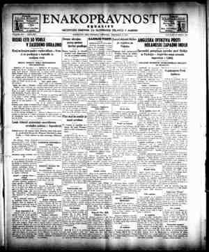 Enakopravnost Gazetesi 24 Aralık 1942 kapağı