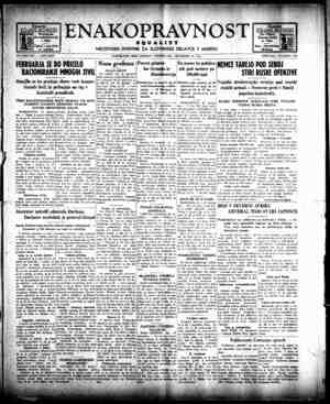 Enakopravnost Gazetesi 28 Aralık 1942 kapağı