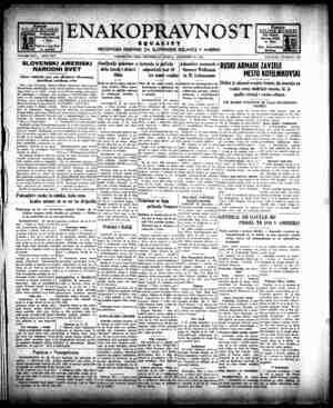 Enakopravnost Gazetesi 30 Aralık 1942 kapağı