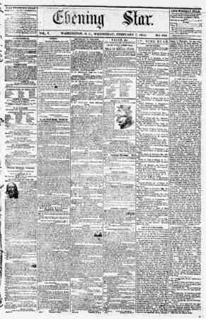 WASHINGTON, D. C., WEDNESDAY, FEBRUARY 7, 1855. NO. 654. THF FYF YTAT} * PUBMSII/.I* s:\FRV (ixoarv ? ? At t\4 i*...