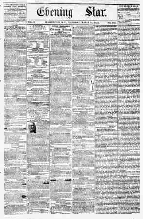 k a* ' . - C. . I THE EVENING STAR PUBLISHED EVERY AFTERNOON, (EXCEPT SUNDAY.) At ths Star Bmhli/tg, corner Pennsylvania...