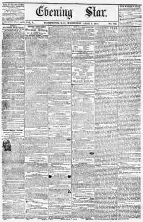 THE EVENING STAR PUBLISHED EVERY AFTERNOON, lEXCETT 8LNDAY,) fa the Star Buitti'vg. ronrfr Pennsylvania avtnue and E'nenth By