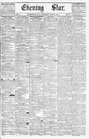 WASHINGTON, D. C., SATURDAY. JUNE 30. 1855. NO. 777. THE WEEKLY STAR. This Family nn4 N<*wa Juwu ?cn?^ Uuning * *r. mat...