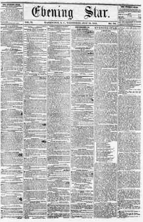 "WASHINGTON, D. C., WEDNESDAY, JULY 18, 1855 DR. L. B. WRIGHT'S ETTFAILIXG ""SCEOITJLOUS ANTIDOTE,"" for tke Pirrnantnt Curt oj"