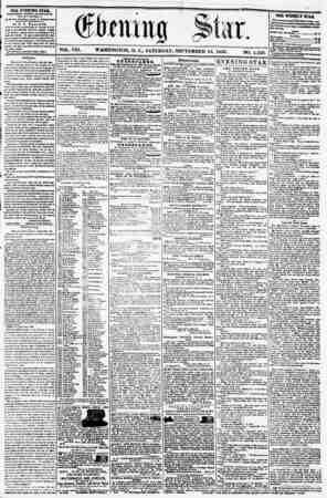 "WASHINGTON, D. C., SATURDAY 13, 1856. NO. 1,123. THE WEEKLY STAB. ***? excelieat Kami)? u4 N?vi J rmrn*, ~r ~ "".Tf""*""**"""" **y"