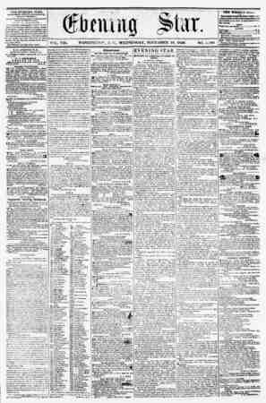 VOL. VIII. WASHINGTON, D. C.. WEDNESDAY, NOVEMBER 19, 1856 NO. 1.180 _ * CiLH KVjuu* u bl'Aji, rWHH?HKO ?FkKT ArrfcRNUdll,