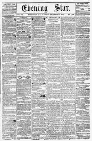WASHINGTON, D. U, SATURDAY, DECEMBER 13, 1856. NO. 1,200. THE ETCHING STAB, rOBLISHLD EVKKT AFTERNOON, (EXCEPT SUNDAY,) if