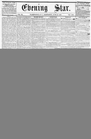 THE EVENING STAR If PUBLISHED EVERY AFTERNOON, (K1CEPT SUNDAY,) AT THE STAR BUILDINGS, Ctrnsr of Ptnntvltamxa artnut, and...