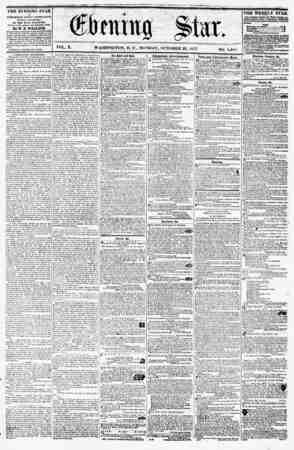 f ?? ? ??' ?? ? ?? * a . , y^fY C^/ J (^.frntittjj S^Iet* V-^r VOL. X. WASHINGTON, D. C., MONDAY, OCTOBER 26, 1857. NO....